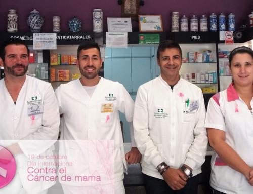 19 de Octubre, la Farmacia Prieto Vivanco con la lucha contra el cáncer de mama