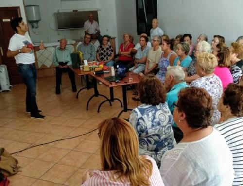 Habitos saludables en Vilar de Barrio con Pablo Garcia Vivanco