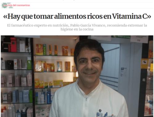 LA VOZ DE GALICIA:  Entrevista a Pablo Garcia Vivanco