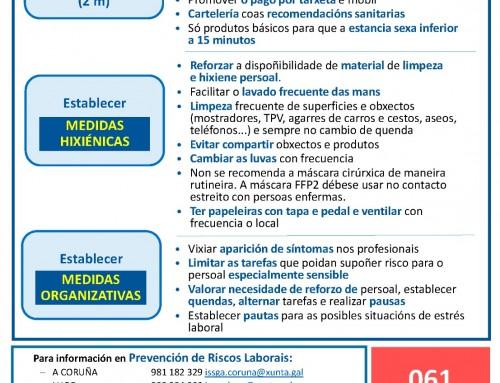 PREVENCIÓN NAS OFICINAS DE FARMACIA FRONTE AO CORONAVIRUS